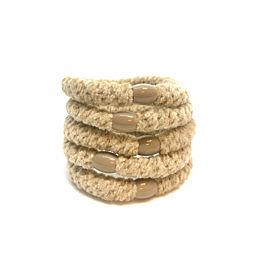 Hoops Velvet Beige 5 Pk Deal
