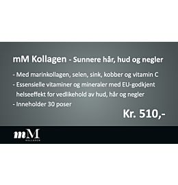 Hyllemarkørsett mM Kollagen