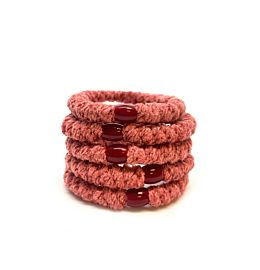 Hoops Velvet Rusty Pink 5 Pk Deal