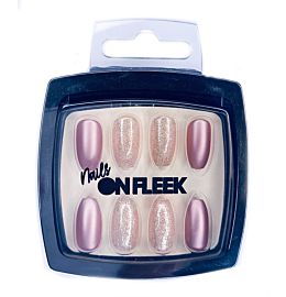 Nails On Fleek Golden Pink Nail Kit