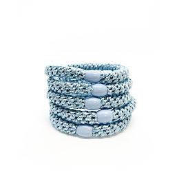 Hoops Shiny Icy Blue 5 Pk Deal