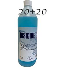 Disicide Spray 1000ml 20+20 Deal